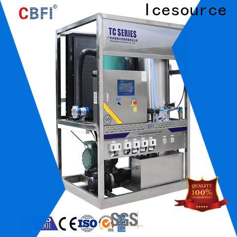 CBFI durable portable ice maker bulk production for aquatic goods