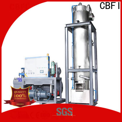 CBFI commercial ice making machine manufacturer for aquatic goods