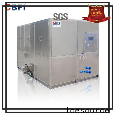 reliable ice cube machine per manufacturer for vegetable storage