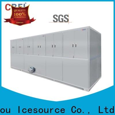 CBFI ton commercial ice cube machine newly for vegetable storage