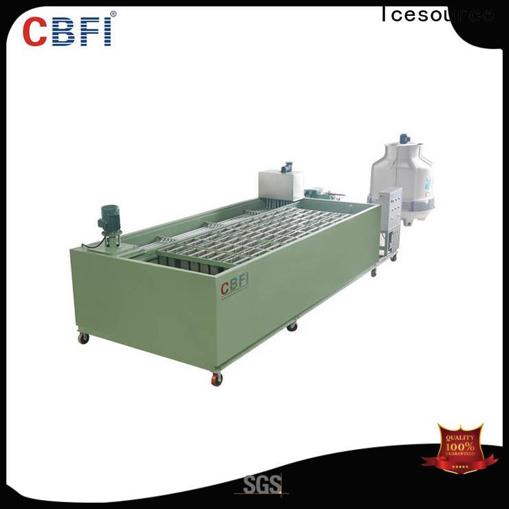 CBFI marvel ice maker plant for whiskey