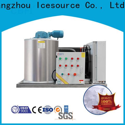 CBFI commercial industrial flake ice machine order now for ice making
