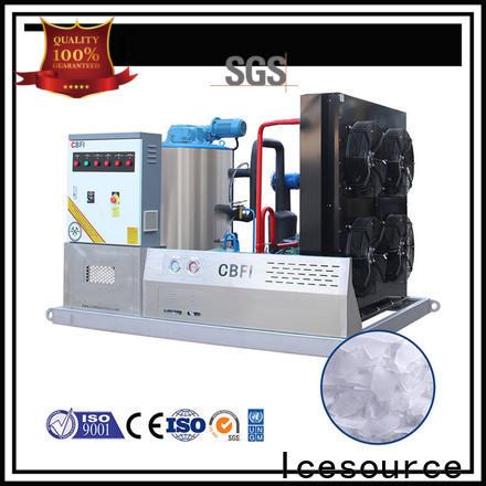 CBFI making flake ice machine order now for water pretreatment