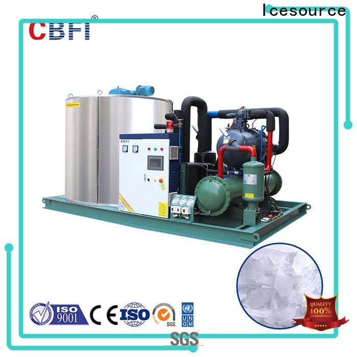 CBFI newly flake ice makers commercial free quote for water pretreatment
