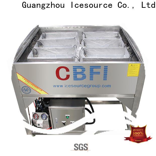 CBFI durable tube ice manufacturing vendor