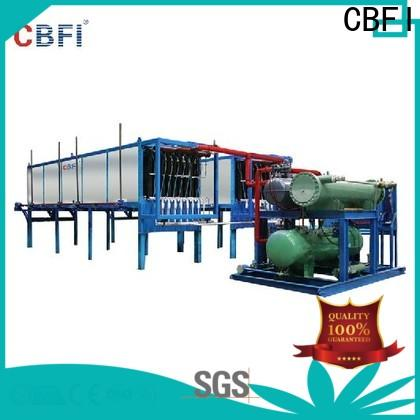 CBFI block ice machine compressor free design for vegetable storage
