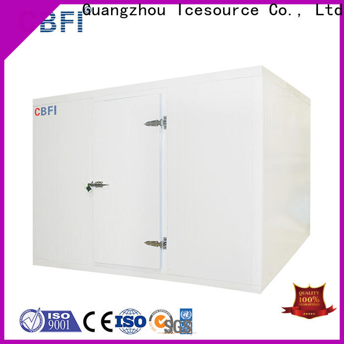 CBFI widely used cold storage container range for fruit storage