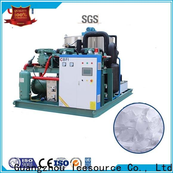 CBFI maker flake ice machine for sale certifications for aquatic goods