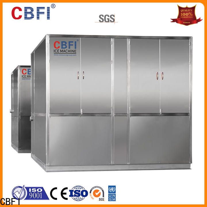 CBFI clean plate ice maker in china for brandy