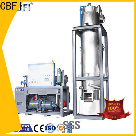 CBFI tube ice machine owner for restaurant