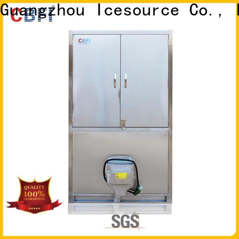 CBFI large capacity cube ice maker free design for vegetable storage
