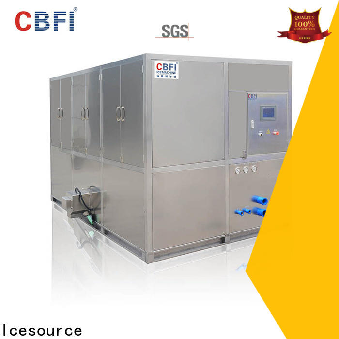 CBFI widely used ice cube machine manufacturers factory price for freezing