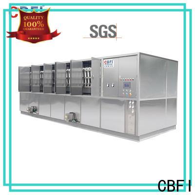 CBFI high reputation large ice cube machine from china for fruit storage