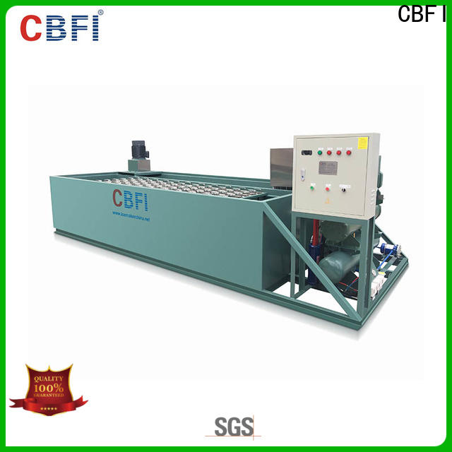 CBFI clean clear ice maker manufacturing for whiskey