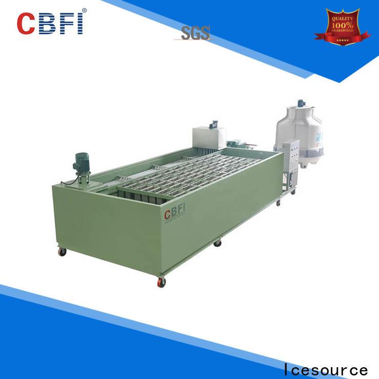 CBFI ice cube machine bulk production for whiskey