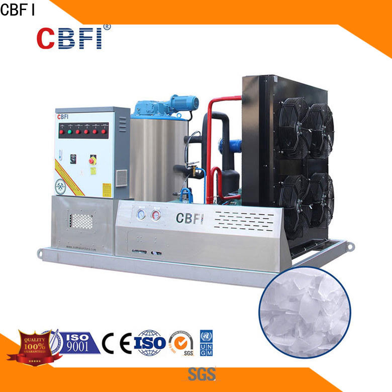 CBFI tons flake ice machine commercial certifications for ice making