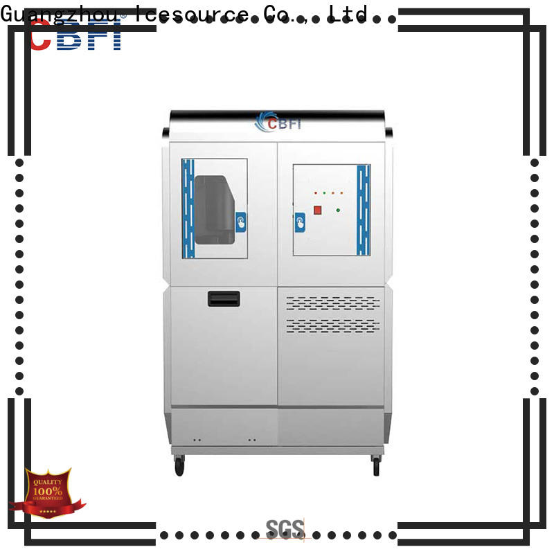 advanced technology water cooled ice machine edible bulk production for ice making