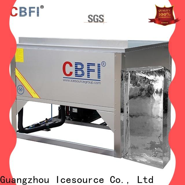 CBFI widely used tube ice manufacturing free quote for ice sculpture shaping