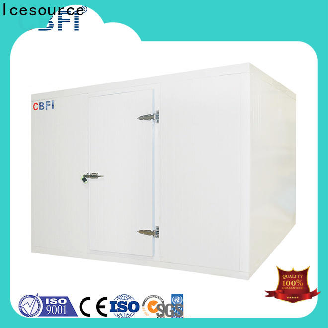 CBFI cold room design range for freezing