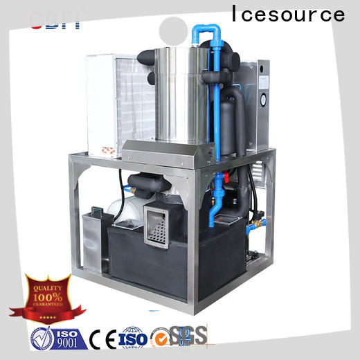 CBFI ice crusher machine producer for wine cooling
