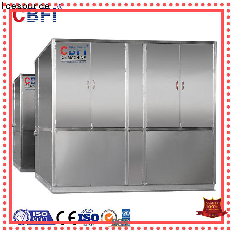 CBFI clean plate ice machine free design for cooling