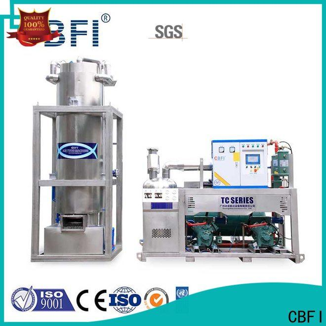 CBFI widely used ice machine owner for aquatic goods