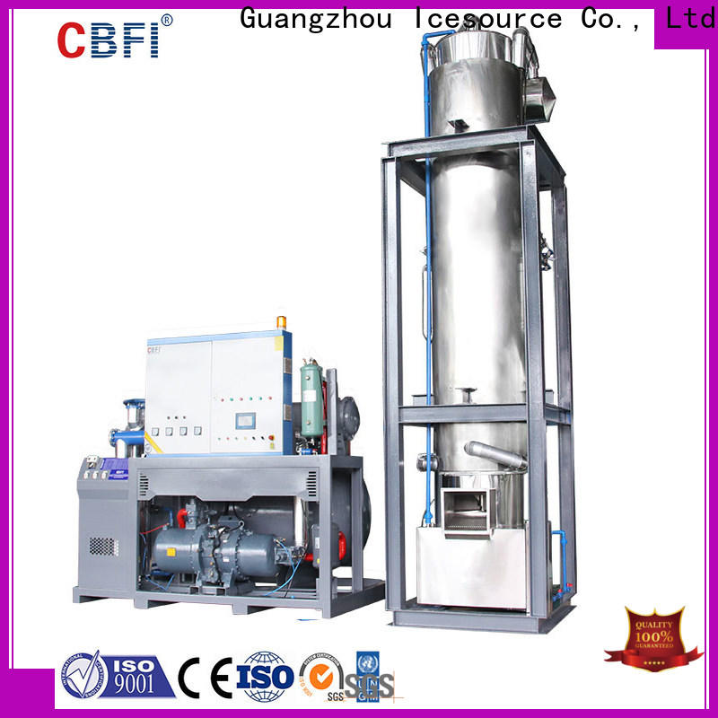 CBFI ice maker manufacturer for ice sculpture