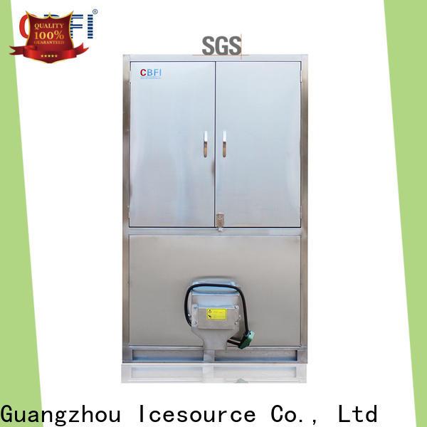 CBFI control cube ice maker for vegetable storage