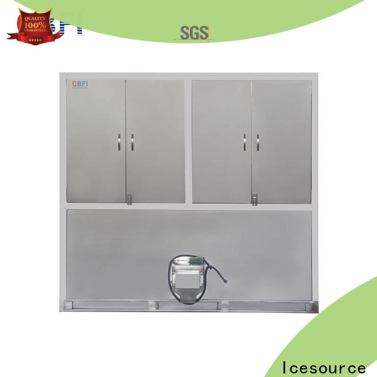 CBFI per large ice cube machine order now for vegetable storage