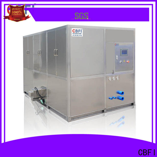 CBFI widely used industrial ice cube machine manufacturer for vegetable storage