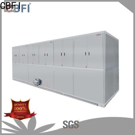 CBFI reliable ice cube maker machine factory for freezing