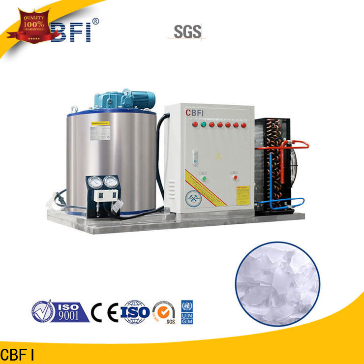CBFI machine flake ice makers commercial free quote for aquatic goods