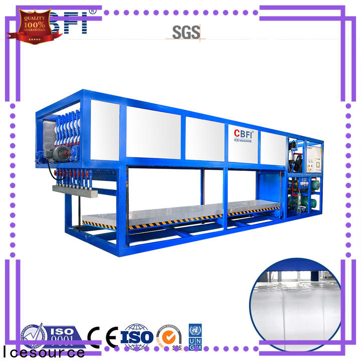 CBFI high-quality commercial ice machine reviews supplier for fruit storage