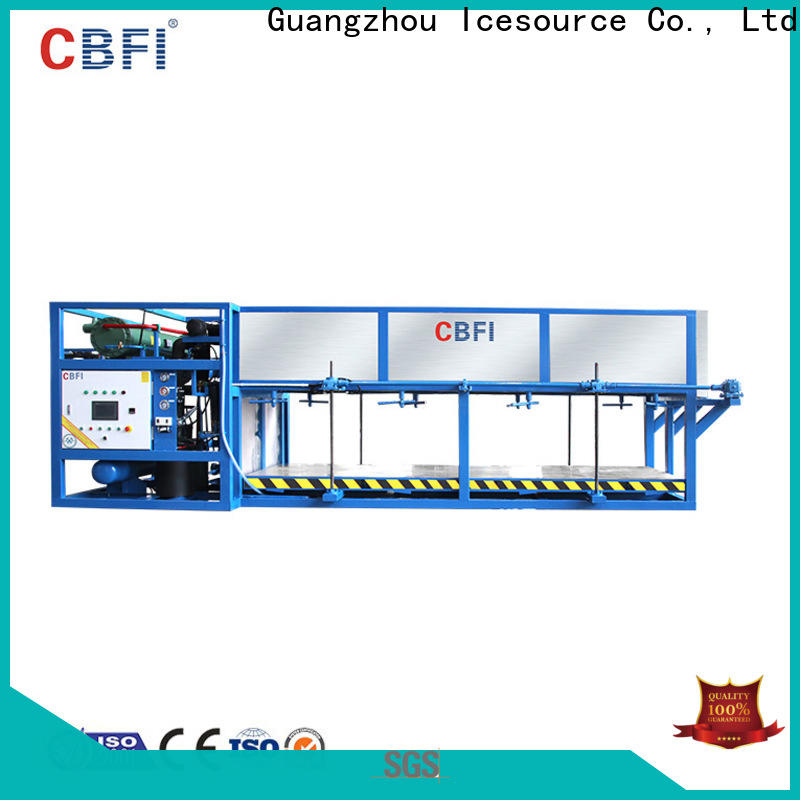 CBFI abi servend ice machine from china for fruit storage