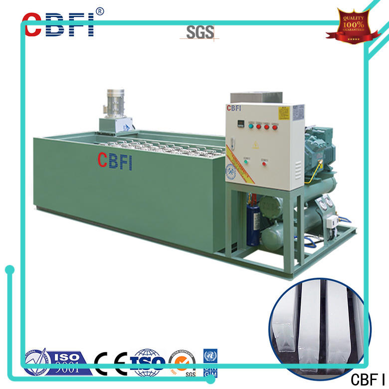 CBFI widely used used ice machine in china for cooling