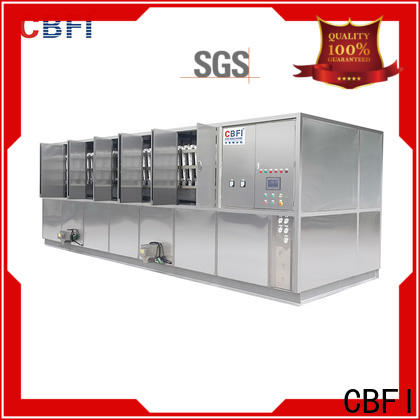 CBFI large capacity commercial ice cube machine free design for fruit storage