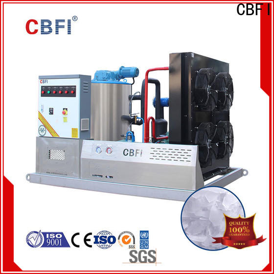 CBFI high-quality flake ice maker bulk production for water pretreatment