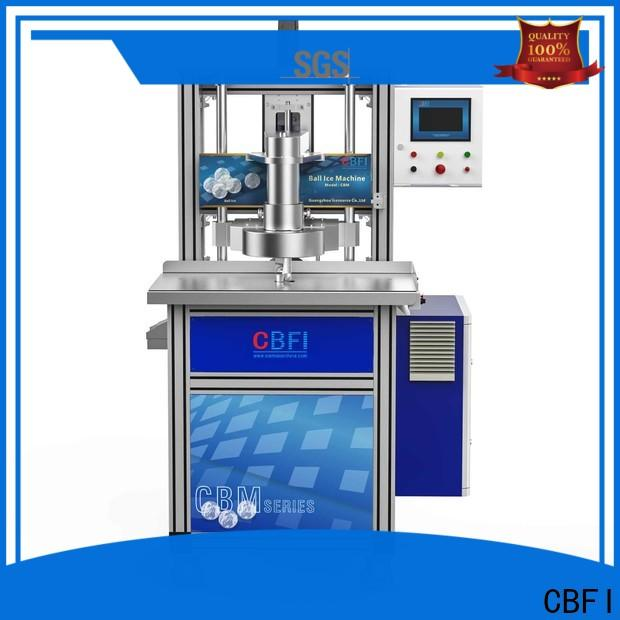 CBFI luxury hotel ice maker free quote for ball ice making