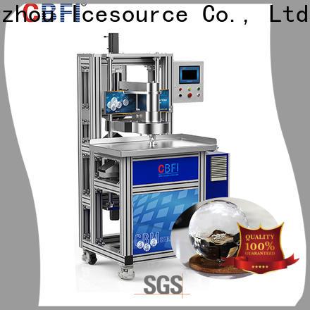 CBFI consumption ice machine crushed ice long-term-use for ball ice making