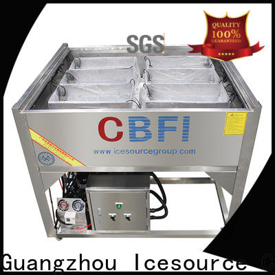 CBFI high-end ice machine maintenance free quote for wine cooling