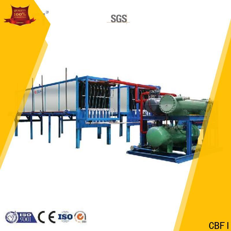 CBFI high reputation ice maker plant from china for freezing