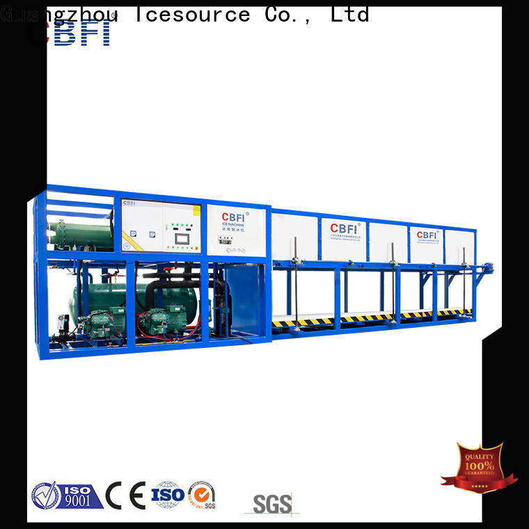 CBFI high-quality commercial ice machine reviews customized for vegetable storage