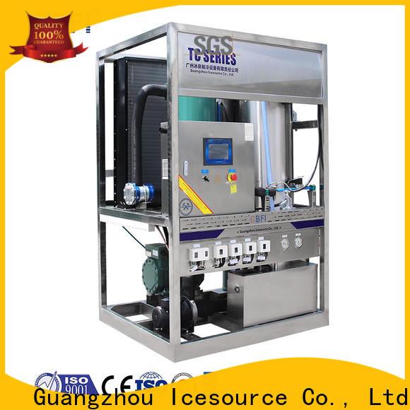 CBFI professional ice crusher machine bulk production for aquatic goods