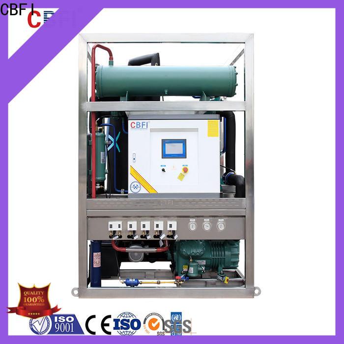 CBFI durable ice crusher machine manufacturer for ice making