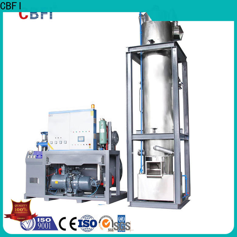 CBFI commercial tube ice machine for sale producer for ice sculpture