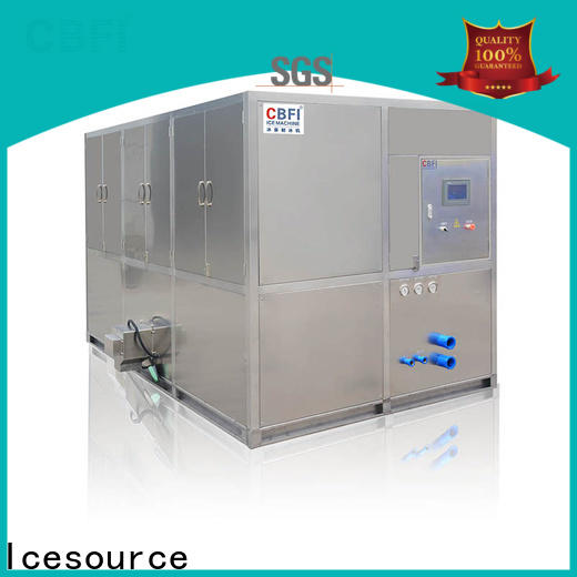 large capacity commercial ice cube machine ice supplier for vegetable storage