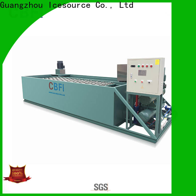 clean industrial ice maker in china for whiskey