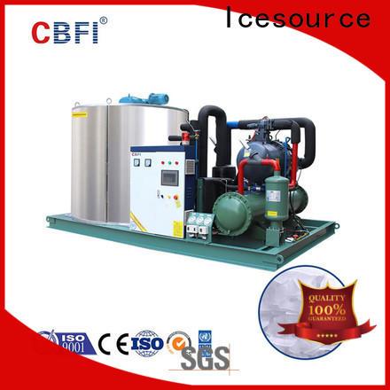 CBFI fine- quality flake ice plant for aquatic goods