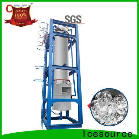 ice ball machine making for concrete cooling