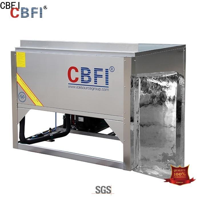 CBFI making ice machine maintenance bulk production